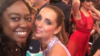 Ayshah with Louise Redknapp