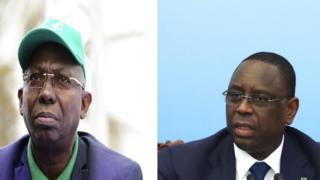 Issa Sall et Macky Sall sont tous les deux candidats au scrutin présidentiel du 24 février au Sénégal