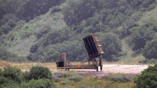 イスラエル軍は先に、ゴラン高原の入植地に対する攻撃に対し迎撃準備ができていると語っていた
