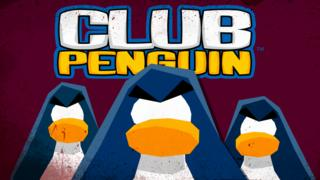 Sinister penguin silhouettes