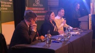 Sinn Féin leader Mary Lou McDonald