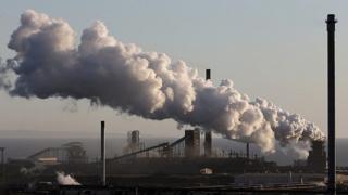 Tata Port Talbot steel plant
