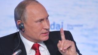 Rais Vladmir Putin wa Urusi