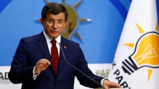 Ahmet Davutoglu, 5 May