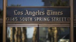 روزنامه لسآنجلس تایمز هم یکی از روزنامههایی بود که هدف حمله قرار گرفت