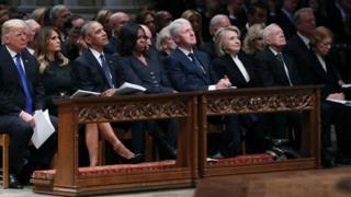 Los Trump, los Obama, los Clinton y los Carter
