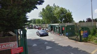 Hayling Island household waste recycling centre