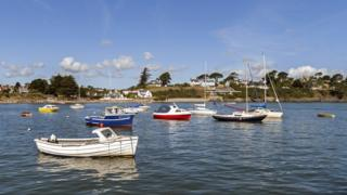 The Gwynedd village of Abersoch is popular with second home owners