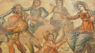 mosaik lantai
