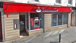 Santander branch in St Andrews