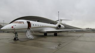 Private jet which drugs were seized from at Farnborough Airport