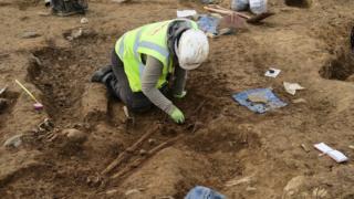 Darganfyddiadau archeolegol