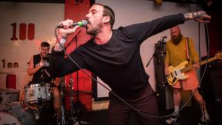 Idles at the 100 Club