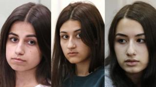 三姐妹克雷斯蒂娜(Krestina)、安吉麗娜(Angelina)和瑪麗亞(Maria)