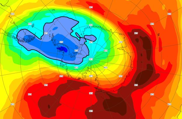 CAMS ozone forecast