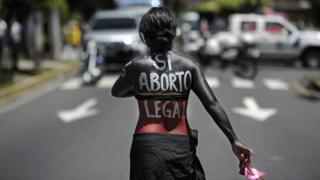 Campaigner for right to abortion