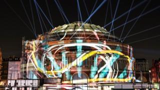 Anna Meredith's Five Telegrams lights up the Royal Albert Hall