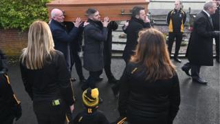Politics Seamus Mallon's funeral