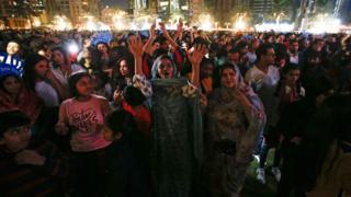 جشن سال نو میلادی در دوبی