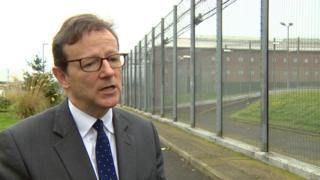 Retiring prisons inspector David Strang