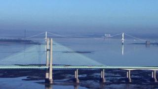 The Severn bridges