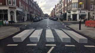 3D zebra crossing