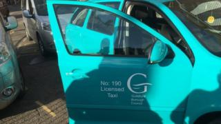 New Guildford taxi livery