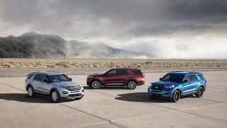 Ford Explorer SUVs