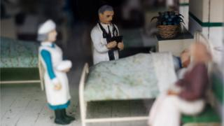 Bekonscot hospital scene