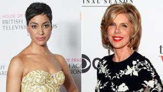 Cush Jumbo and Christine Baranski