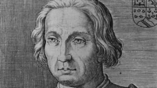 Христофор Колумб, портрет неизвестного художника, 1500 год