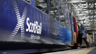 Scotrail train