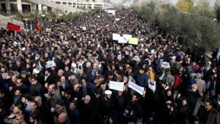 Протест в Тегеране