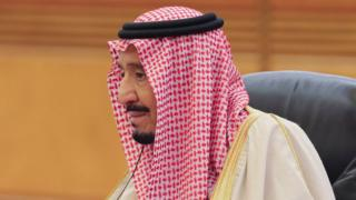Le roi Salman d'Arabie Saoudite soutient une capitale palestinienne à Jérusalem-Est.