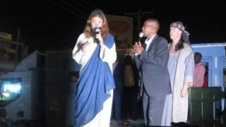 Michael Job na actor wey dey form Jesus