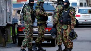 Russian FSB forces