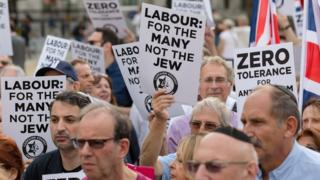 Jewish Labour protesters