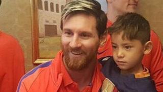 Messi da Murtaza Ahmadi a Doha