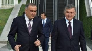Ҳоким Ортиқхўжаев ва Президент Мирзиёев