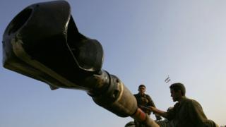 Suriye'de bir tank
