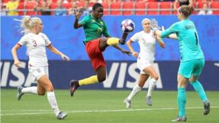Cameroon kanck out from di 2019 Women's World Cup on Sunday evening.