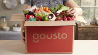 صندوق مكونات تجهيز أطعمة لشركة غوستو