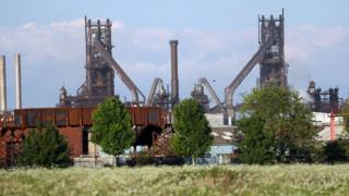 British Steel Scunthorpe