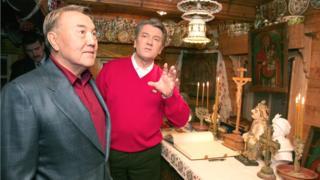 Назарбаєв та Ющенко