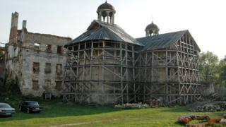 Бережанський замок на Тернопільщині, 2007 рік