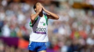 L'athlète paralympique algérien Abdellatif Baka médaillé d'or à Rio