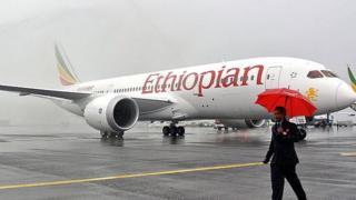 Ethiopian aircraft.