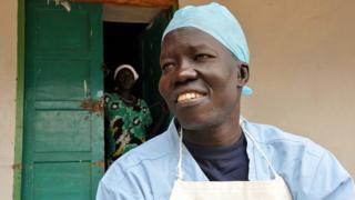 Dokta Evan Atar na Sudan ta Kudu