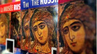 """Икона """"Ангел Златые власы"""" - древнейшая икона в коллекции Русского музея"""