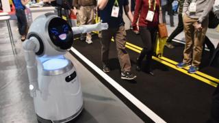 Сервисный робот Cruzr